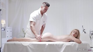 The ultimate sexual fantasy during massage for Cristal Caitlin