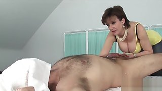 Unfaithful english milf lady sonia shows her big titties