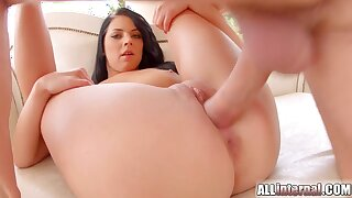 ALL INTERNAL - Her first ever vaginal creampie