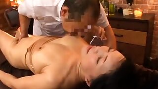 Body Massage in an Asian Massage Parlor
