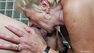 Old vs young lesbian video with two amateur ladies who love pussy