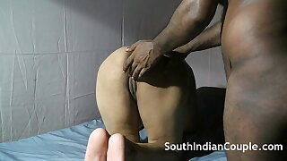 South Indian Housewife With a Big Ass Has Hard Sex