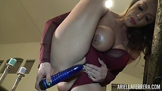Ariella Ferrera homemade masturbation video