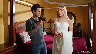 Deep pleasures fore this hot blonde on her wedding day