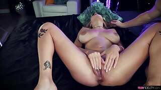 Amazing how the busty MILF can handle such a big dose of dick