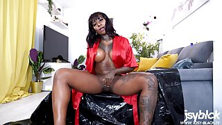 Dirty Story 15 Of 24: I Let Black Cock Cum In My Ass For You To Lick It Up My Little Cuckold! With Josy Black