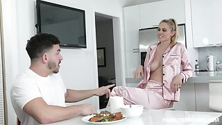 Sexy stepmom hither pajamas Addie Andrews seduces her handsome stepson