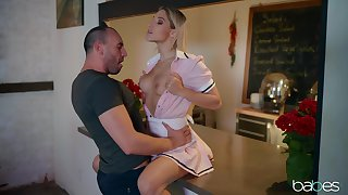 Abella Danger gets her holes licked and fucked by her horny friend