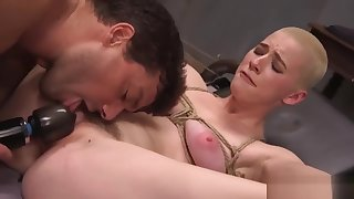 Dirty Whore Spanked Tied and Fucked